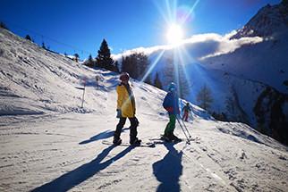Sent Bernard - ski kamp